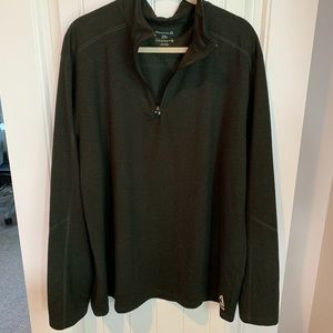 Reebok 1/4 zip long sleeve regular fit pullover